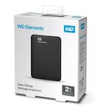 Wd Elements Disco Duro Externo Usb 3.0 2tb + Oferta