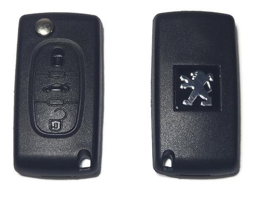 Carcasa Llave Peugeot 306 307 406 407 Partner 3 Botones.