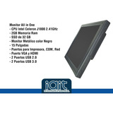Monitor All In One Touch 15