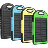 Bateria Externa Cargador Portatil Solar 20000 Mah Linterna