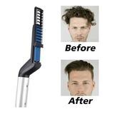 Peluquería : 1 Peine Eléctrico  Alisador Para Pelo Y Barba