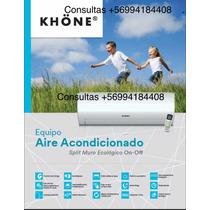 Aire Acondicionado Khone 18.000 Btu Sin Intalacion