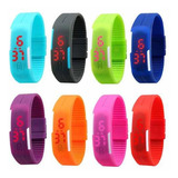 Pack 30 Reloj Led Silicona Deportivo Unsx Sport / Lhua Store