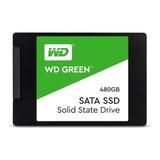 Disco Estado Sólido Wd Ssd Green 480gb 2.5  Int Sata 3d