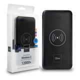 Batería Portátil Wireless C 12000 Mah Mlab