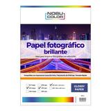 Papel Foto Glossy Brillante Nobucolor A3 230 Gr. 50 Hojas