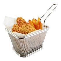Mejor Utensilios Chips Fry Baskets De Acero Inoxidable Mini