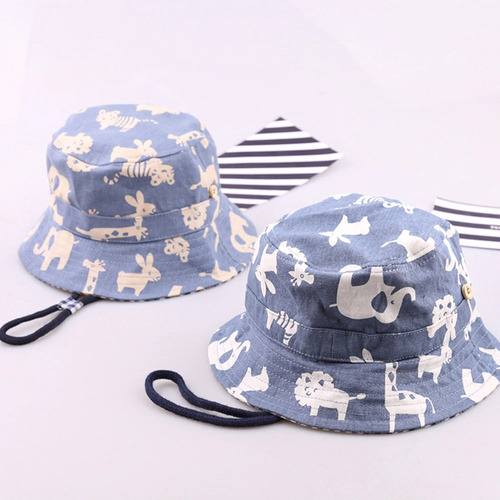 Gorro Sombrero Protección Solar Animales Bebés Niños Niñas 416df7d9022