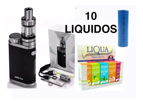 Cigarro Vaporizador Istick Pico Mas Bateria Mas 10 Liquidos