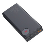 Batería Externa Led 30.000mah Q.c 3.0 33w Baseus Tecnostrike