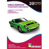 Film Adhesivo Transparente Blanquesin Waterproof A4/135g/20h