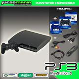 Ps3 / Playstation 3 Desbloqueado / 250gb 2 Controles +envio