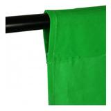 Fondo Verde 3x6, Tela Croma, Telon Croma, Fondo Fotografico