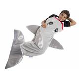 Saco, Frazada, Manta Abrigo De Polar Disfraz Tiburon Termico
