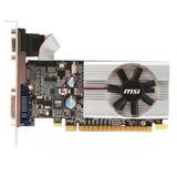 Tarjeta De Video Msi Nvidia Gt210 1 Gb Ddr3 Hdmi Dvi Vga Ip