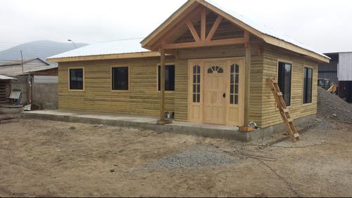 Casas prefabricadas, madera: Casas prefabricadas sexta region