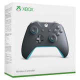 Microsoft Official Xbox One Controller Grey/blue - Sniper.cl