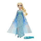 Muñeca Del Cabo Disney Frozen Elsa Magical Story - Hermosa M
