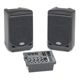 Set De Amplificacion Portable Xp-150 Samson - Envío Gratis