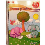 Pack Caligrafix Pre Kinder Trazosy Letras- Lógica Y Número 1