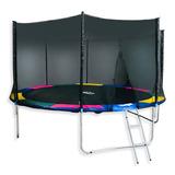 Cama Elástica Glowup 6ft1.83mt 180kg Malla + Escalera R3331