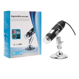 Microscopio Digital Usb 1600x Zoom Optico Hd 8 Leds