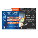 Pack 2 Anatomia Humana Para Estudiantes  2 Libros