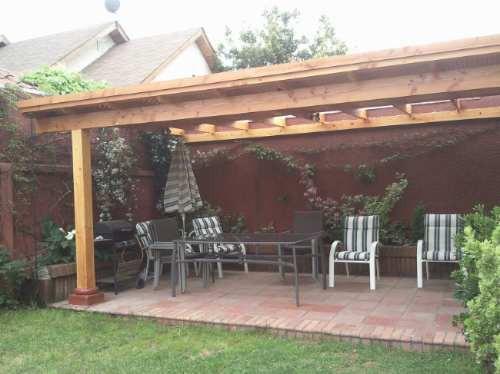 Pergolas cobertizos quinchos otros a clp 30000 en for Cobertizo de madera ideas de disenos