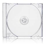Pack 200 Unidades Caja Cd Acrilica Transparente. 10.4 Mm