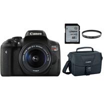 Canon Eos T6i 18-55 Is Stm + Filtro Uv + 16gb + Bolso