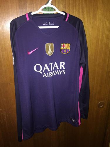 Camiseta Fc Barcelona 2016-2017 Suplente 38c7bc9f243