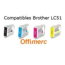 Catridge Brother Nuevo Alternativo Lc-51 Y Lc -41 Garantia