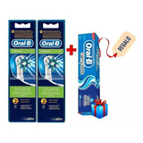 6 Repuestos De Cepillo Electrico Dientes Oral-b Cross Action