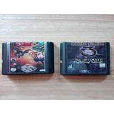 Pack De 2 Juegos Alternativos De Sega Genesis