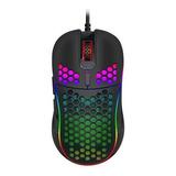 Mouse Gamer Premium Imice T98 Rgb 7200 Dpi Honeycomb Usb