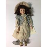 Muñeca Porcelana Le Jardine Hand-made Porcelain Doll