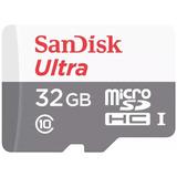 Tarjeta Memoria 32gb 80mb/s Sandisk Micro Sd Clase10- Oferta