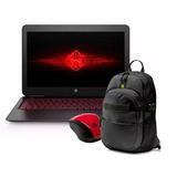 Notebook Hp Omen 15-ax201la I5-7300 8gb + Mochila + Mouse Hp