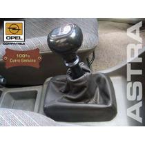 Funda Cuero Genuino Palanca De Cambios Opel Astra