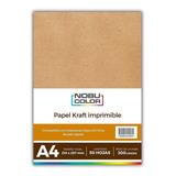 Papel Kraft Imprimible A4 300 Gr. 50 Hojas