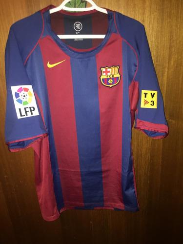 Camiseta Fc Barcelona 2004-2005 Titular 66b7c424f58