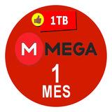 Cuenta Premium Mega 1 Mes 30 Dias 1000gb Envio Rapido 24/7