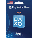 Tarjeta Psn Card 20 Dolares Ps4 Usa Digital - Prepagochile