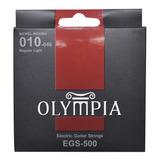 Cuerdas Guitarra Eléctrica Reg Light 10-46 / Olympia Egs500