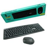 Kit Teclado + Mouse Inalambrico Wireless 2.4ghz Weibo Gamer