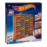 Caja Guarda Autos Y Pista Hot Wheels 3 En 1