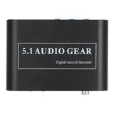 5.1 Canales Ac3 / Dts Audio Gear Digital Surround Sound