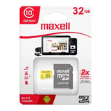 Tarjeta De Memoria Micro Sd 32gb Maxell Clase 10 /angelstock