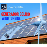 Aerogenerador - Turbina Eolica - Alto Rendimiento 48v/2000w