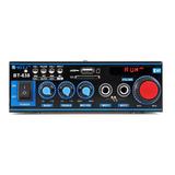 Amplificador Mini Bt-638 Bluetooth Digital Hifi 2ch